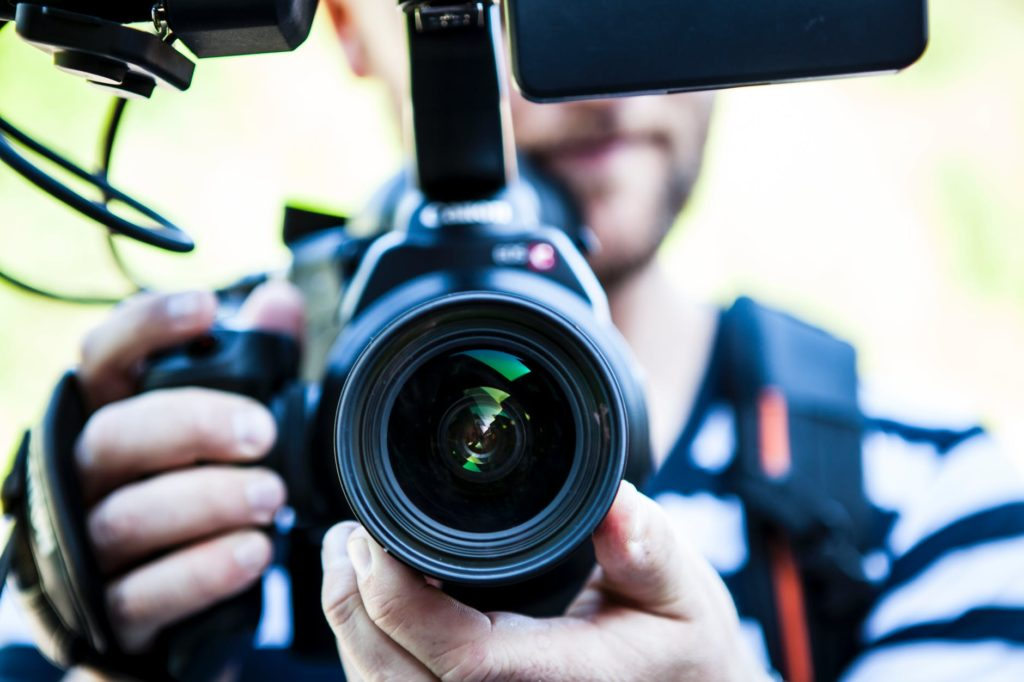 Camera for all types of event videos: testimonial video, highlight video, speaker session video, live streaming video, promotional video.