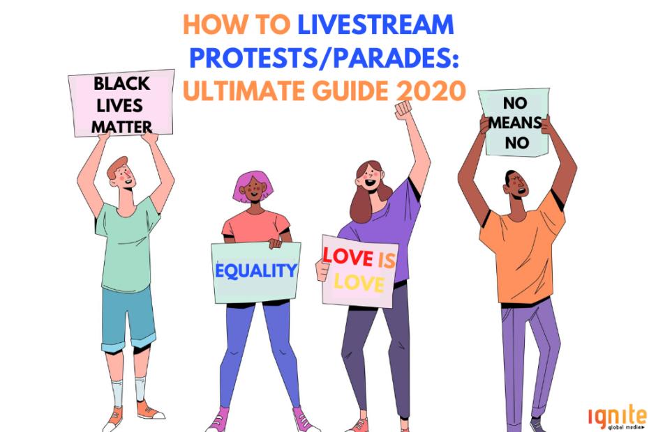 livestream protest